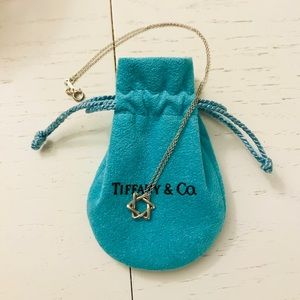 Tiffany Star of David necklace